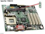 Motherboard (system board), Socket 7, MV4-CAM - Does not include processor NO LONGER SUPPLIED