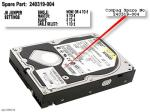 80.0GB Ultra DMA hard drive - 7,200 RPM, 3.5-inch form factor NO LONGER SUPPLIED