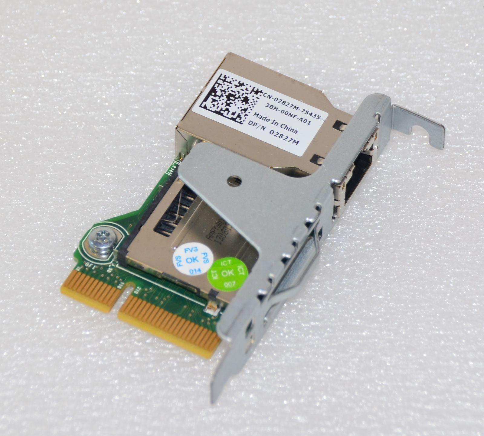 Dell 2827m Idrac 7 Enterprise Remote Access Card For Dell Poweredge  R320-r420-r520