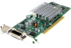 398686-001 NVIDIA Quadro4 NVS 280 graphics card - With 64MB DDR SDRAM memory, dual 350MHz RAMDAC, and one DMS-59 high density output connector - ATX form factor - Requires one PCI slot