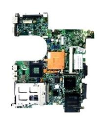 416165-001 System board - Featuring the Mobile Intel 945GM Express Chipset with 667-MHz front side bus - For use with full-featured (FF) models with Bluetooth and fingerprint reader