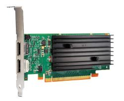 519298-001 PCIe 3D NVIDIA Quadro NVS 295 256MB graphics card - With 64-bit DDR2 memory, rated at 21W TDP - Low profile mounting Part 519298-001  , 641462-001