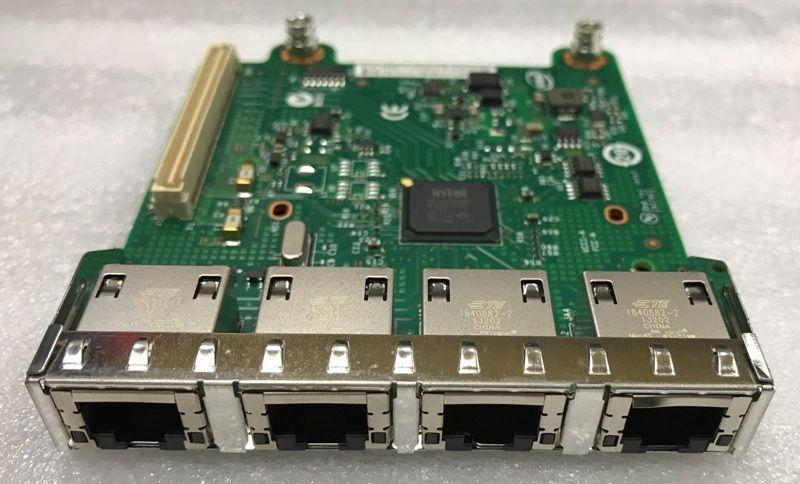 Dell 543-bbcc Intel I350 Qp Pcie Gigabit Ethernet X 4 Network Adapter For  Dell Poweredge M420- M520- M620