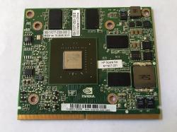 677907-001 NVIDIA Quadro 500M PCIe x16 1GB DDR3 memory, 128-bit wide interface graphics card - Max power consumption of 35 Watts (Graphics Sub-System)