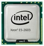 Intel Quad-Core 64-bit Xeon E5-2603 processor - 1.80GHz (Sandy Bridge-EP, 10MB Cache, Intel QPI Speed 6.4 GT/s, 80W TDP (Thermal Design Power), FCLGA (Flip-Chip Land Grid Array) 2011 socket))