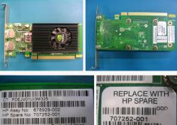 707252-001 NVIDIA NVS 310 512MB PCIe x16 Unified Extensible Firmware Interface (UEFI) graphics card