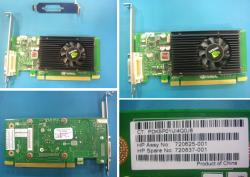 720837-001 NVIDIA Quadro NVS315 1GB PCIe x16 graphics card