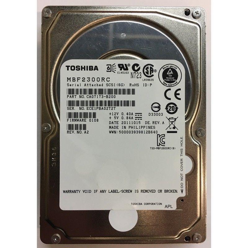 Toshiba Al14seb06ep Enterprise Performance Hdd 600gb 10000rpm Sas-12gbps  128mb Buffer 25inch Hard Disk Drive With Mfg Warranty