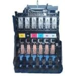 Ink cartridge carriage assembly - Includes carriage PC board