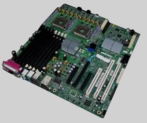 Dell Precision Workstation 490 Desktop Motherboard (System Mainboard) -  GU083
