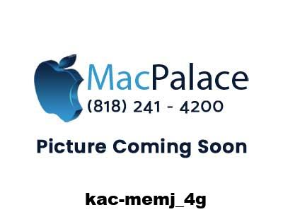 Kingston Kac-memj-4g - 4gb Ddr3 Pc3-10600 Non-ecc Unbuffered 204-pins Memory