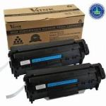 Black toner cartridge - Will print approximately 2,000 pages based on a 5% print density