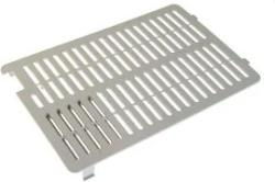 RB3-1139-000CN Vent cover - Rectangular plastic cover with molded-in ventilation louvers - Mounts on the left side cover